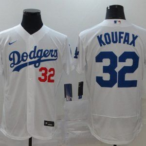 Youth Dodgers #32 Sandy Koufax Jersey